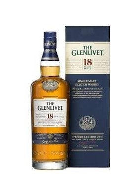 THE GLENLIVET 18 AÑOS 70 CL.
