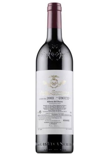 VEGA SICILIA UNICO 2003 75CL.