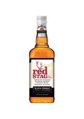 JIM BEAM RED STAG 1L.