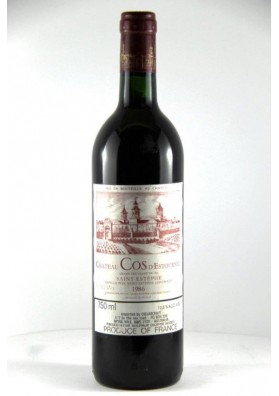 CHATEAU COS D'ESTOURNEL 1991 75 CL.