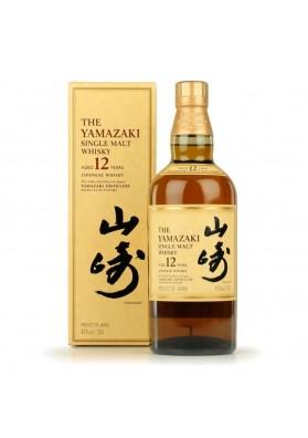 SUNTORY YAMAZAKI 12 AÑOS 43% 70 CL.