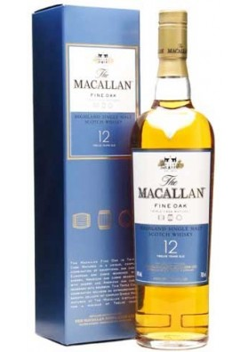 MACALLAN 12 AÑOS FINE OAK 40% 70 CL.