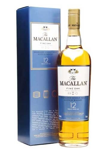 MACALLAN 12 AÑOS FINE OAK 40% 70 CL.