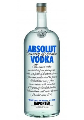 ABSOLUT BLUE 450 CL. 40%