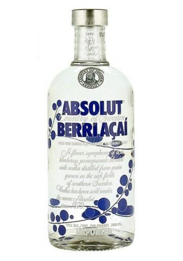 ABSOLUT ACAI BERRY 1 LITRO 40 %