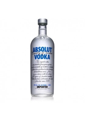 ABSOLUT BLUE 1 LITRO 40%