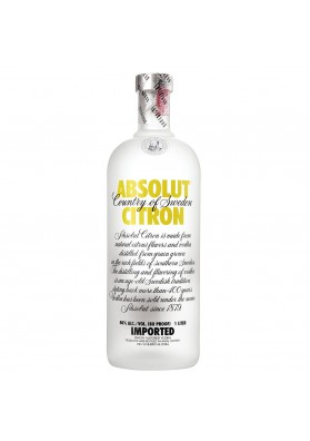 ABSOLUT CITRON 1 LITRO 40%