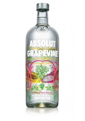 ABSOLUT GRAPEVINE 1 LITRO 40%