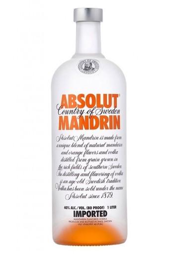 ABSOLUT MANDARIN 1 LITRO 40%
