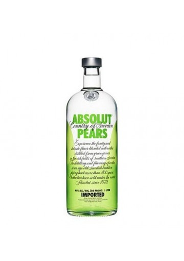 ABSOLUT PEARS 1 LITRO 40%