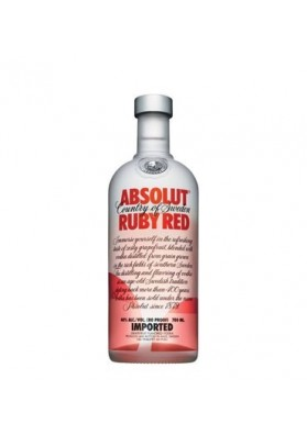 ABSOLUT RUBY RED 1 LITRO 40%
