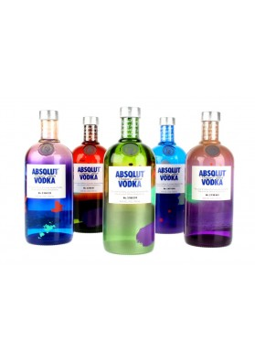 ABSOLUT UNIQUE EDITION 70 CL. 40%