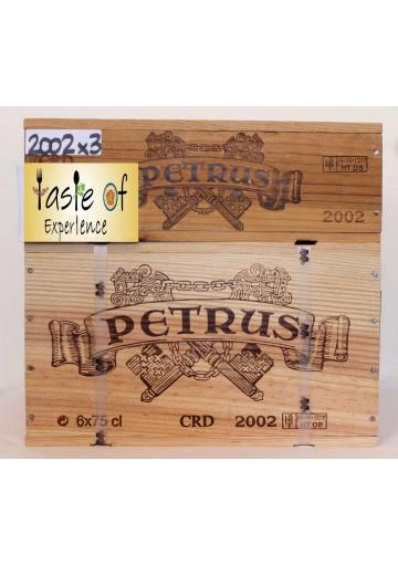CHATEAU PETRUS 2002 75 CL.