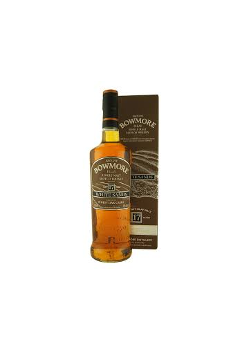 BOWMORE 17 AÑOS WHITE SANDS 70 CL.