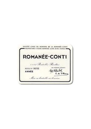 D.R.C. ROMANEE CONTI 2001 75 CL.