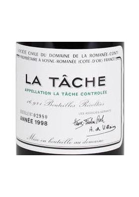 D.R.C. ROMANEE CONTI LA TACHE 1998 75 CL.