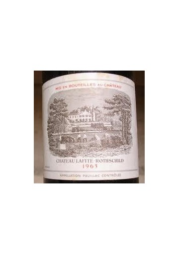 CHATEAU LAFITE ROTHSCHILD 1965 75 CL.