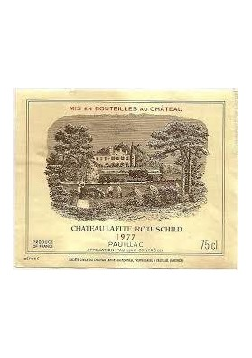 CHATEAU LAFITE ROTHSCHILD 1977 75 CL.