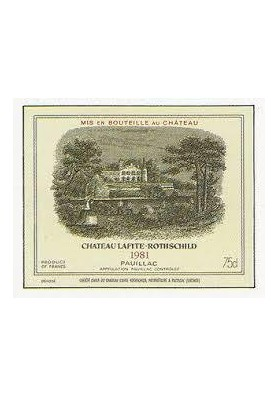 CHATEAU LAFITE ROTHSCHILD 1981 75 CL.