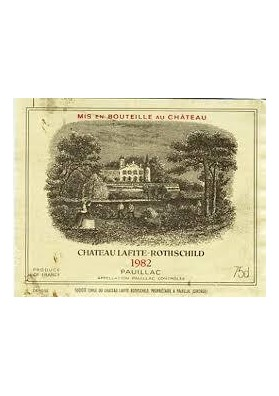 CHATEAU LAFITE ROTHSCHILD 1982 75 CL.