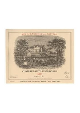 CHATEAU LAFITE ROTHSCHILD 1983 75 CL.