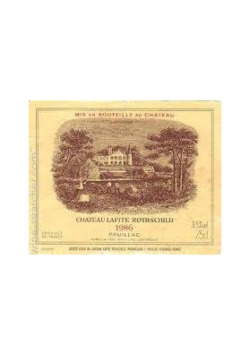 CHATEAU LAFITE ROTHSCHILD 1986 75 CL.