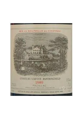 CHATEAU LAFITE ROTHSCHILD 1989 75 CL.