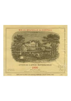 CHATEAU LAFITE ROTHSCHILD 1990 75 CL.