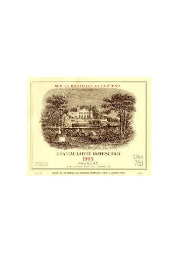 CHATEAU LAFITE ROTHSCHILD 1993 75 CL.