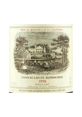 CHATEAU LAFITE ROTHSCHILD 1998 75 CL.