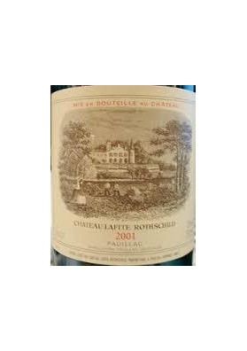 CHATEAU LAFITE ROTHSCHILD 2001 75 CL.
