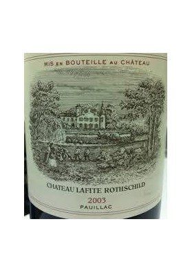 CHATEAU LAFITE ROTHSCHILD 2003 75 CL.