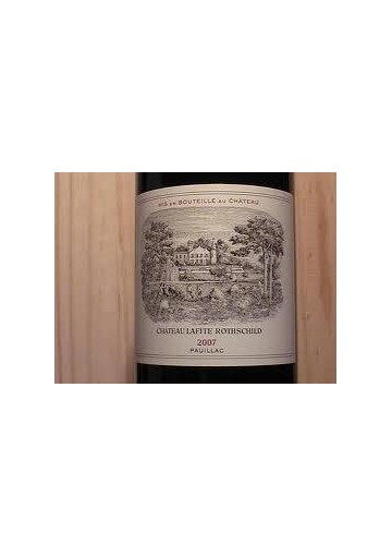 CHATEAU LAFITE ROTHSCHILD 2007 75 CL.